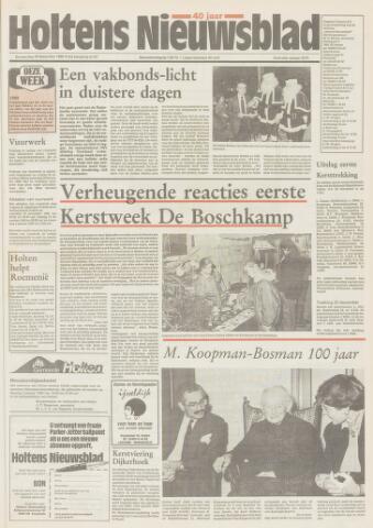 Holtens Nieuwsblad 1989-12-28