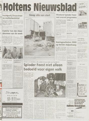 Holtens Nieuwsblad 2000-07-06