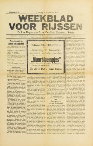 Weekblad voor Rijssen 1921-11-12