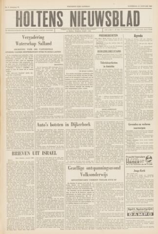 Holtens Nieuwsblad 1960-01-16