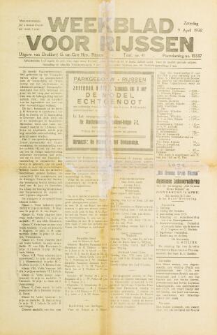 Weekblad voor Rijssen 1938-04-09