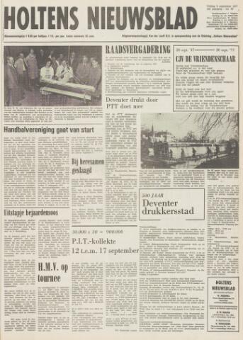 Holtens Nieuwsblad 1977-09-09