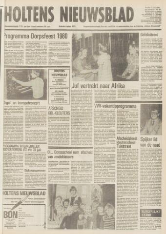 Holtens Nieuwsblad 1980-07-11