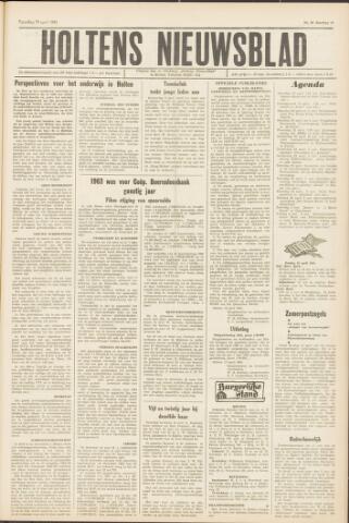 Holtens Nieuwsblad 1964-04-18