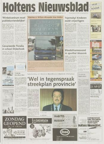 Holtens Nieuwsblad 2001-10-04