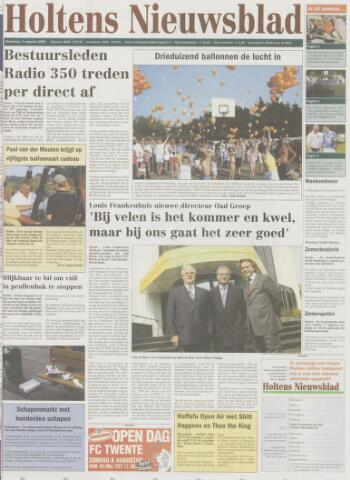 Holtens Nieuwsblad 2004-08-05