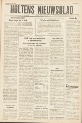 Holtens Nieuwsblad 1964-02-22