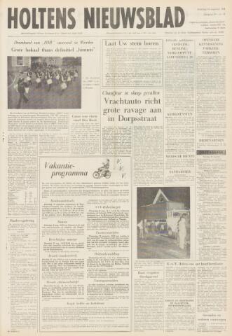 Holtens Nieuwsblad 1968-08-24