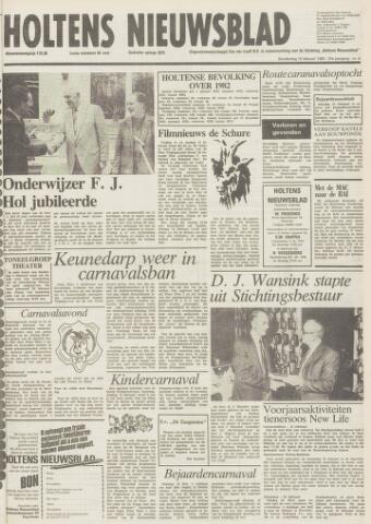 Holtens Nieuwsblad 1983-02-10