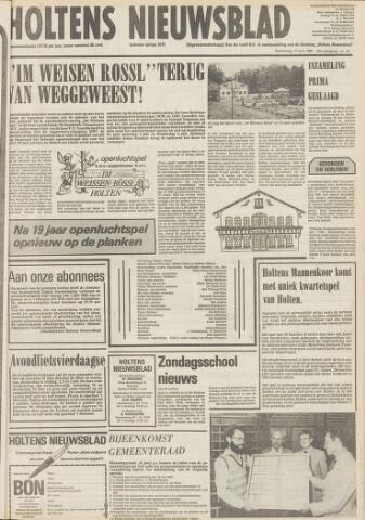 Holtens Nieuwsblad 1981-06-11