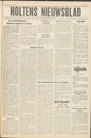 Holtens Nieuwsblad 1964-11-07
