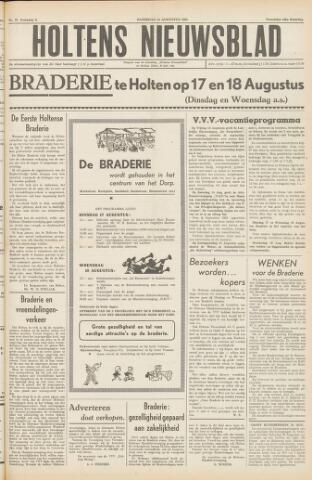Holtens Nieuwsblad 1954-08-14