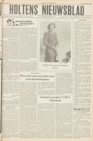 Holtens Nieuwsblad 1957-02-02
