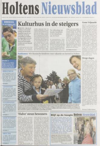 Holtens Nieuwsblad 2009-09-22
