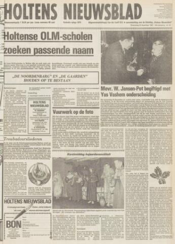 Holtens Nieuwsblad 1981-12-24