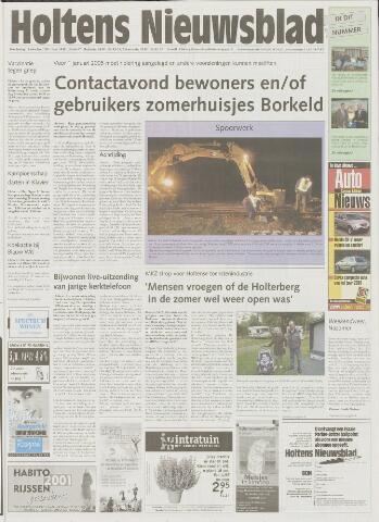 Holtens Nieuwsblad 2001-10-11
