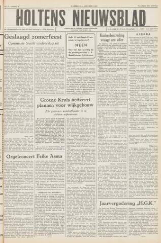 Holtens Nieuwsblad 1957-08-31