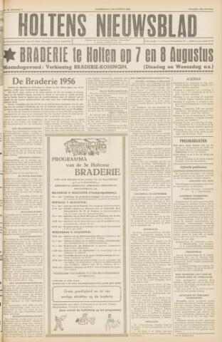Holtens Nieuwsblad 1956-08-04