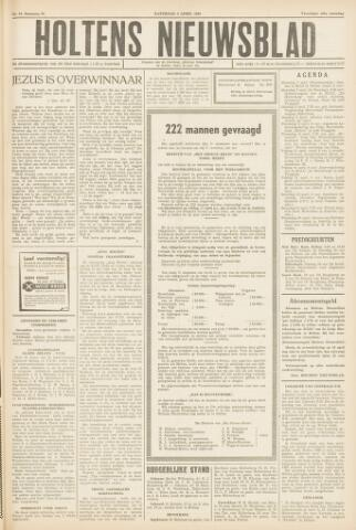 Holtens Nieuwsblad 1958-04-05