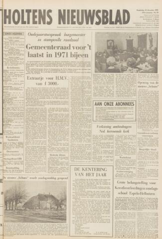 Holtens Nieuwsblad 1971-12-30