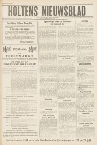 Holtens Nieuwsblad 1961-07-22
