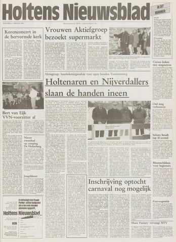 Holtens Nieuwsblad 1996-02-01
