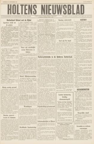 Holtens Nieuwsblad 1961-09-23