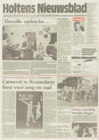 Holtens Nieuwsblad 1986-02-06