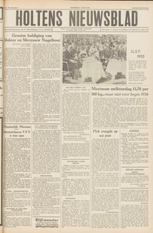 Holtens Nieuwsblad 1955-06-04
