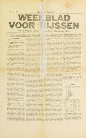 Weekblad voor Rijssen 1920-06-26