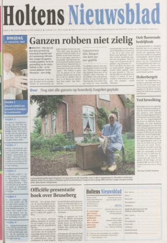 Holtens Nieuwsblad 2007-08-21