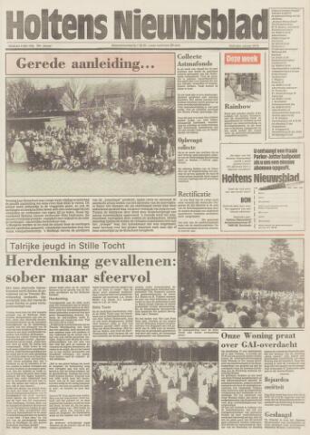Holtens Nieuwsblad 1986-05-09