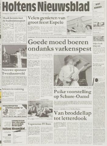 Holtens Nieuwsblad 1997-08-21