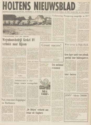Holtens Nieuwsblad 1976-08-20