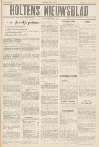 Holtens Nieuwsblad 1960-02-27