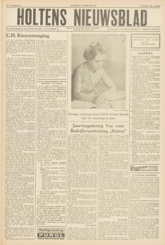 Holtens Nieuwsblad 1958-02-15