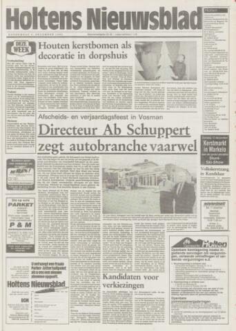 Holtens Nieuwsblad 1993-12-09