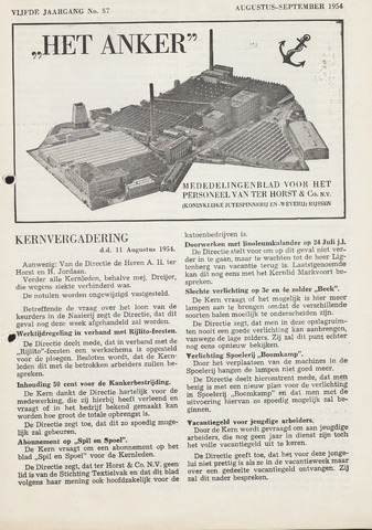 Het Anker 1954-08-01