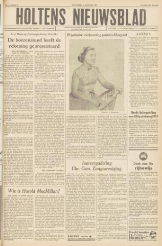 Holtens Nieuwsblad 1957-01-19