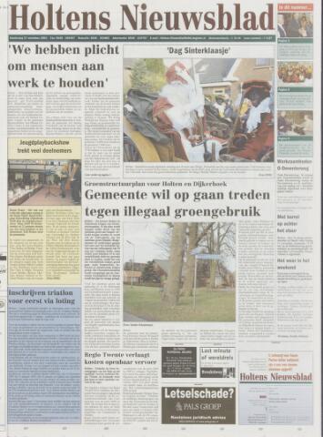 Holtens Nieuwsblad 2003-11-27