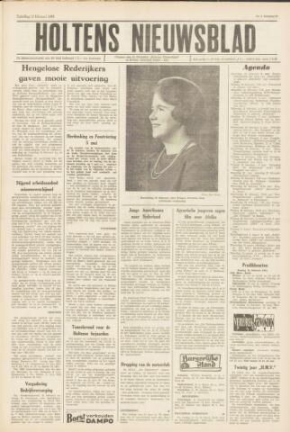 Holtens Nieuwsblad 1965-02-13