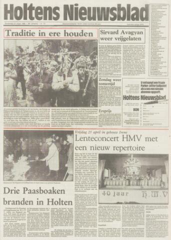 Holtens Nieuwsblad 1986-03-27