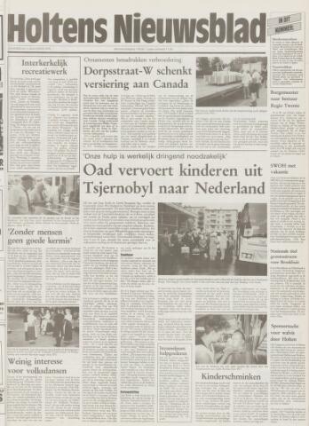 Holtens Nieuwsblad 1995-08-03