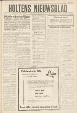 Holtens Nieuwsblad 1962-11-17