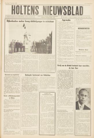 Holtens Nieuwsblad 1962-10-27