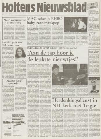 Holtens Nieuwsblad 1995-05-25