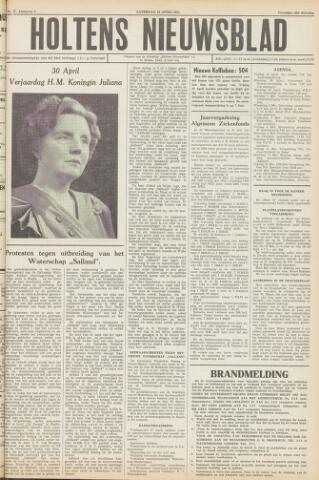 Holtens Nieuwsblad 1951-04-28