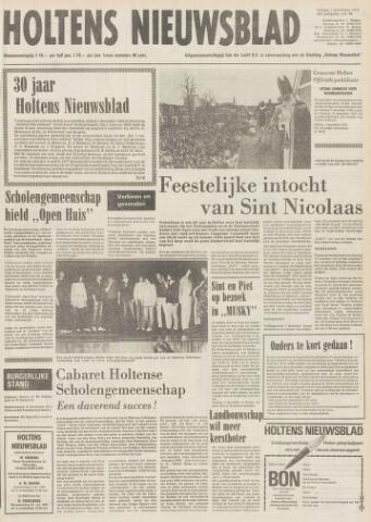 Holtens Nieuwsblad 1978-12-01