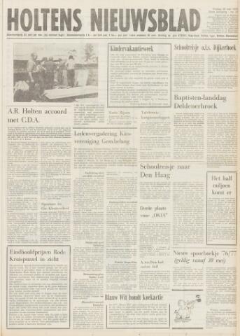 Holtens Nieuwsblad 1976-05-28