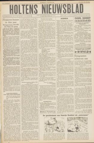 Holtens Nieuwsblad 1954-01-09